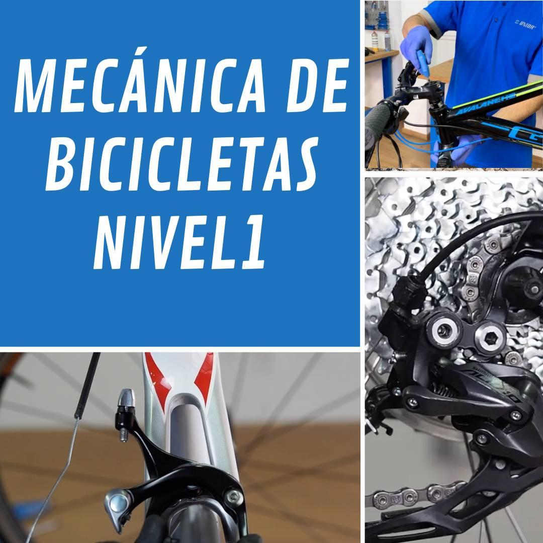 Mecánica de Bicicletas Nivel 1